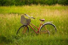 Красный велосипед Стоковое фото RF