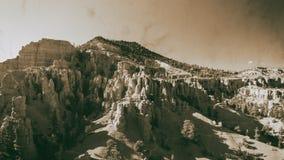 Красный вид с воздуха каньона, Юта стоковые изображения