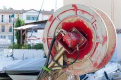 Красный ворот стоковые изображения rf