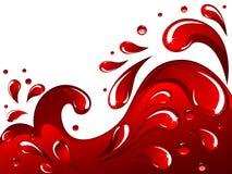 красный выплеск бесплатная иллюстрация