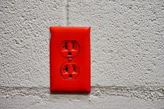 Красный выход Стоковое Изображение RF