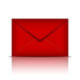 Красный габарит иллюстрация вектора