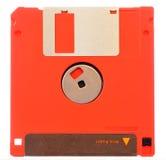 Красный гибкий магнитный диск Стоковое фото RF