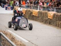 Красный гонщик Bull Фреда Стоковая Фотография RF
