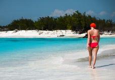 Красный & голубой, Largo Cayo, Куба 2013 Стоковые Фото