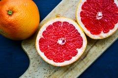 красный грейпфрут стоковые изображения