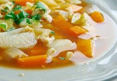 Красный густой суп раковины Стоковое Изображение