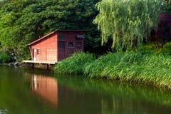 Красный дом Стоковое фото RF