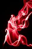красный дым Стоковая Фотография RF