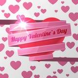 Красный день валентинок сердца Стоковое Фото