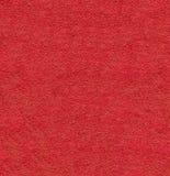 Красный естественный плюш текстурировал текстуру крупного плана предпосылки макроса ткани Стоковая Фотография RF