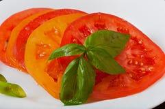 красный желтый цвет томата Стоковое Фото