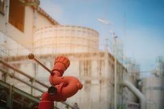 Красный жидкостный огнетушитель Стоковое Изображение