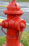 Красный жидкостный огнетушитель Стоковая Фотография RF