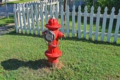 Красный жидкостный огнетушитель 2 Стоковые Изображения RF