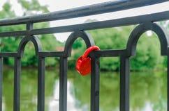 Красный замок Стоковое Изображение