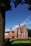 Красный замок Стоковые Изображения