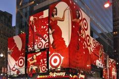 Красный знак повелительницы, New York Стоковое фото RF
