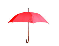 Красный зонтик Стоковые Изображения