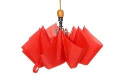 красный зонтик Стоковое Фото