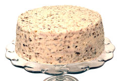 Красный изолированный торт бархата Стоковые Фотографии RF