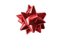 Красный изолят смычка Стоковая Фотография RF