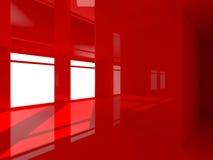 Красный интерьер стоковое изображение