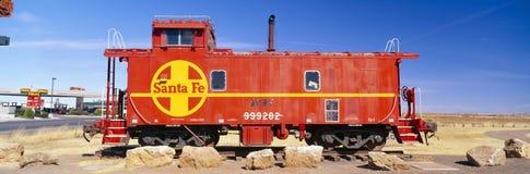 Красный камбуз Санта Фе стоковые фото