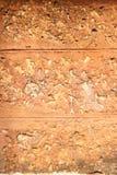 Красный каменный валун Стоковые Фото