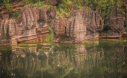 Красный каменный лес Стоковая Фотография