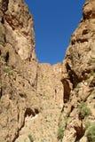 Красный каньон горы атласа утеса Стоковые Изображения