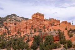 Красный каньон 1 утеса Стоковая Фотография
