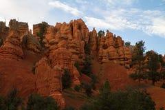 Красный каньон Стоковая Фотография RF