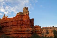 Красный каньон Стоковая Фотография