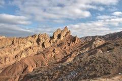 Красный каньон Стоковые Фото
