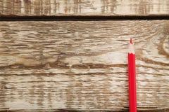 Красный карандаш Стоковые Фотографии RF