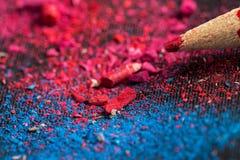Красный карандаш Стоковое фото RF