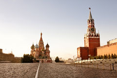 Красный квадрат в Москва стоковая фотография rf