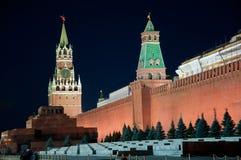 Красный квадрат в Москве, России Стоковое Фото