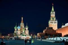 Красный квадрат в Москве, России Стоковые Фото