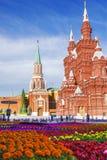 Красный квадрат, Москва, Россия Стоковое Изображение