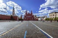 красный квадрат moscow стоковое изображение
