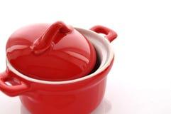 Красный лоток Стоковая Фотография