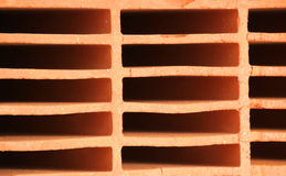 Красный кирпич дома Стоковое фото RF
