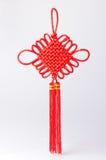 Красный китайский узел Стоковые Изображения RF