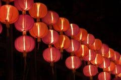 Красный китайский фонарик стоковое фото rf