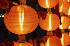 Красный китайский фонарик Стоковая Фотография RF