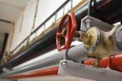 красный клапан стоковая фотография