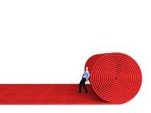 Красный ковер Стоковое Фото