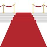 Красный ковер иллюстрация вектора